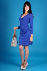 Платье П 363 (василёк)