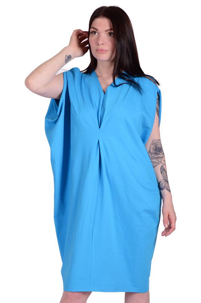 Платье П 589 (голубой)