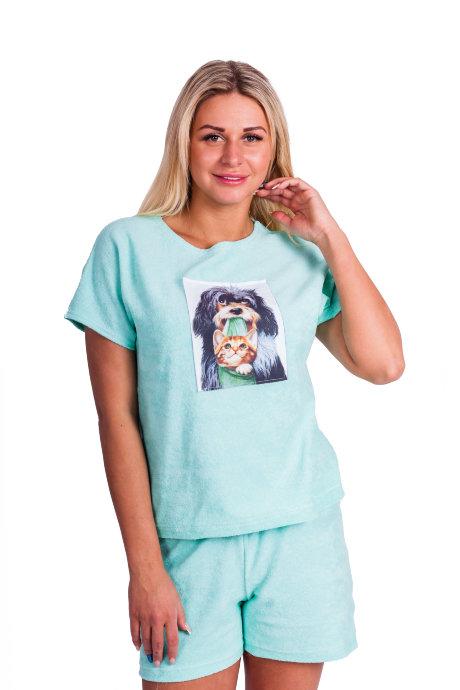 Домашний костюм Д 62 (собака с кошкой) купить по цене 420 ...