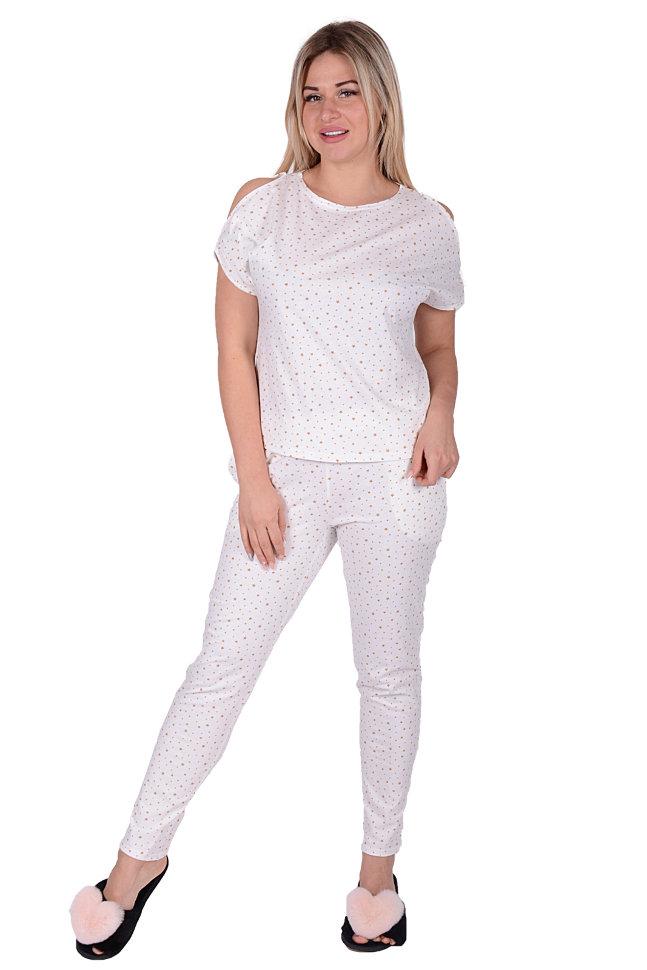 4c463d9d68141 Женская пижама ЖП 003 (бежевые звезды) купить по цене 490 руб. руб ...