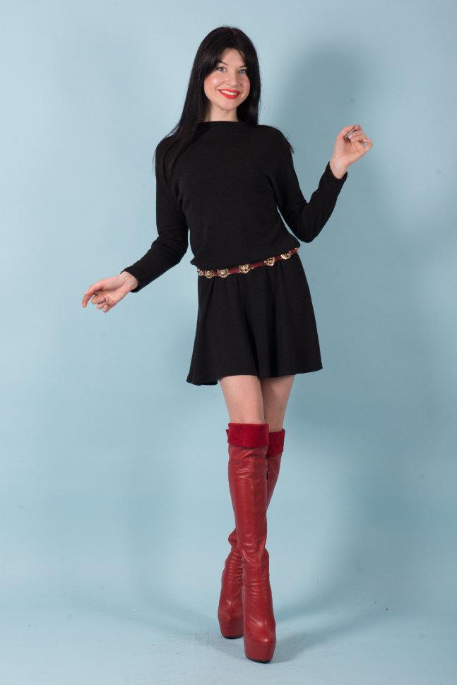 Платье П 512 (черный)