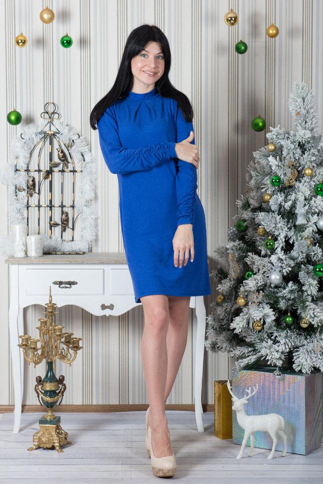 Платье П 427 (васильковый)