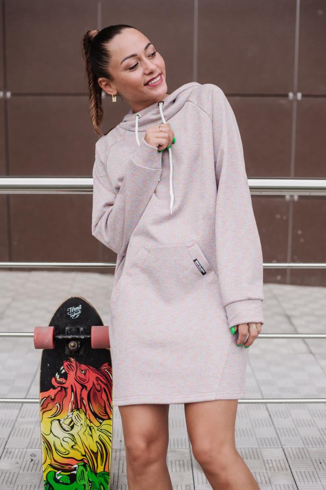 Туника Т 390 (меланж розовый)